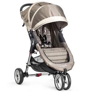 Baby Jogger City Mini Stroller In Sand, Stone Frame, BJ11457