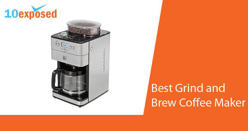 Best Coffee Maker And Grinder 2015 : 10 Exposed - Top 10 Trusted Reviews