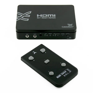 Cablesson Basic 3 x 1 HDMI switch