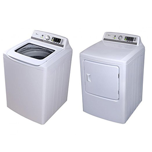 Midea Electric Top Load Washer Pair
