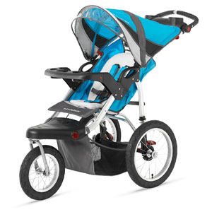 Schwinn Turismo Swivel Single Jogger