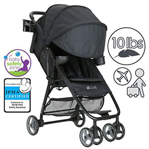 ZOE Umbrella XL1 Single Stroller, DELUXE
