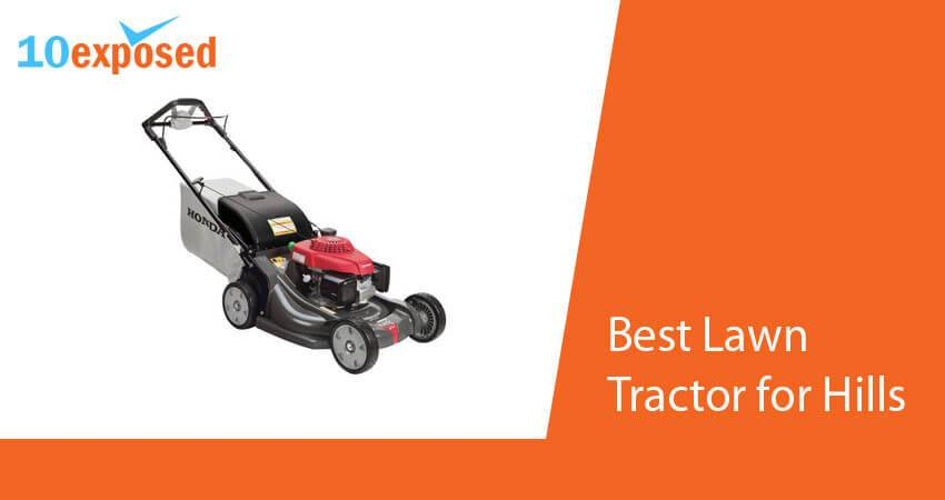 best lawn tractor for hills